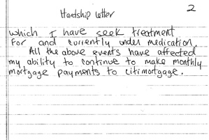hardship letter sample to citi bank hardshipletter to city mortgage